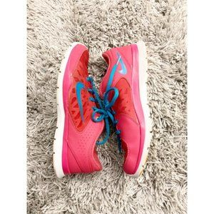 Nike Pink Flex Running Sneakers